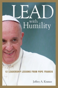 LEAD WITH HUMILITY: A book on Pope Francis' leadership. Photo taken from NYPost.com